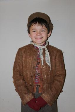 meet turkey boy in a christmas carol